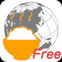 食べ地図Free icon