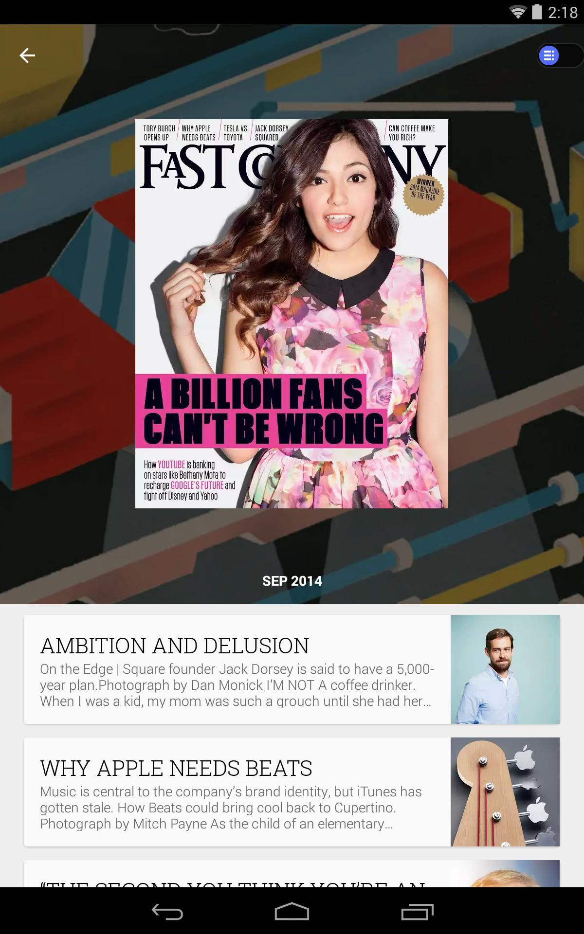 Google Play Newsstand screenshot #11