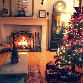 Christmas Eve  by Betsy Bone Kirichenko - Public Holidays Christmas