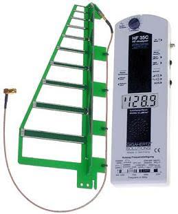 HFE35C Basic, Microwave meter