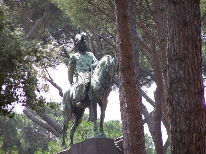 Statua Equestre di rambus
