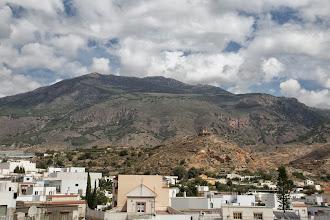 Foto: Vista de la Sierra y la Garita desde la Iglesia