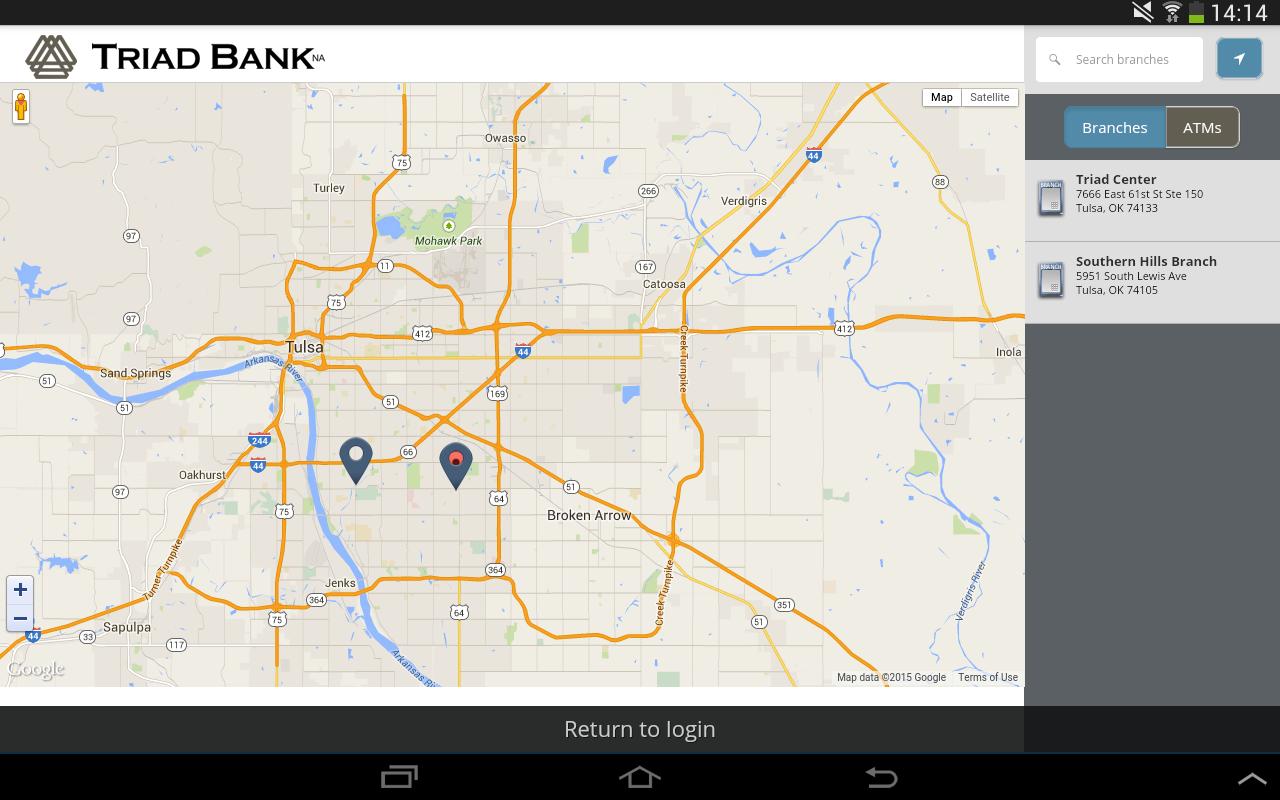 Triad Bank – Mobile Banking - screenshot