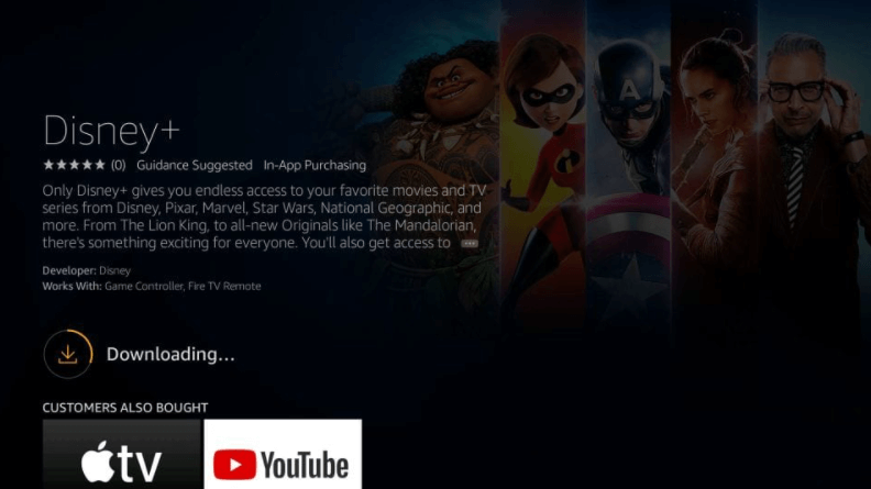 How to Install Disney+ on Amazon Fire Stick / TV 5
