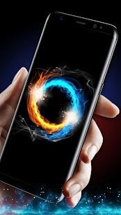 Fire and Ice Live Wallpaper - náhled