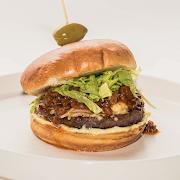 Cheddar Beef Chuck Burger
