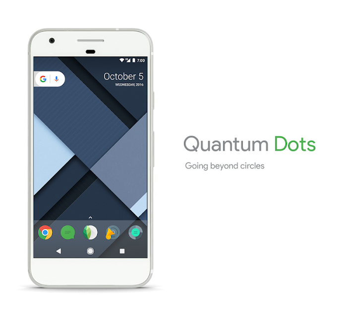 ဖုန္းIcon ဒီဇိုင္းအလန္းစားေလး -  Quantum Dots – Icon Pack v1.1.3 Apk