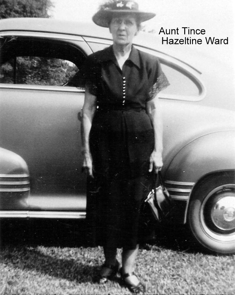Photo: Hazeltine Ward - Aunt Tince - http://CanaanUMC.net