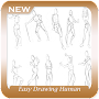 Easy Drawing Human Bodies APK icon