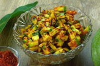 Easy Raw Mango Pickle