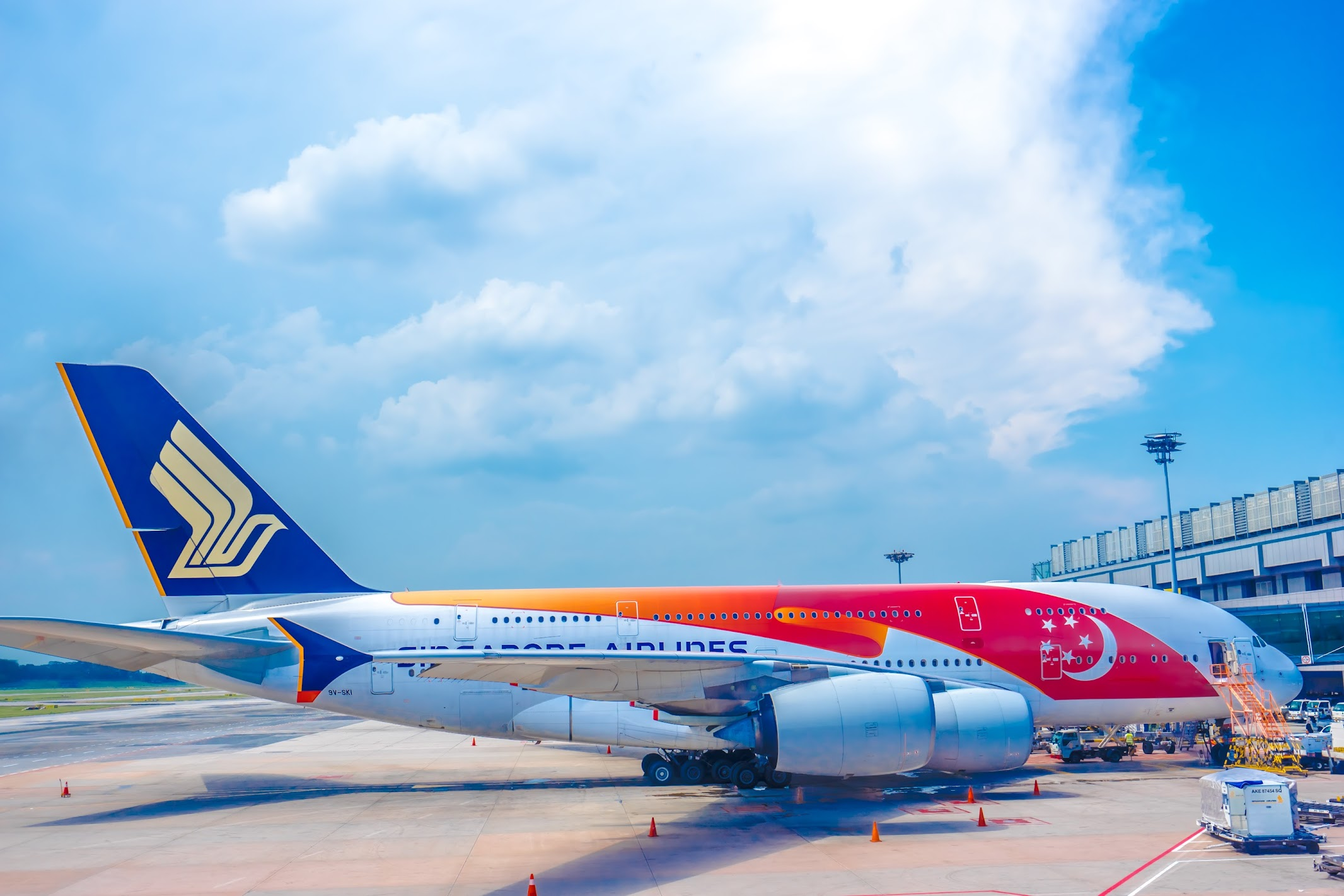 Singapore Airlines special aircraft