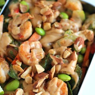 Thai Shrimp Crunch Salad.