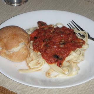 Pasta Puttanesca.