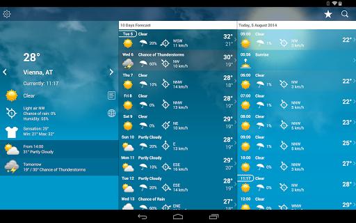 Weather Austria XL PRO screenshot 9