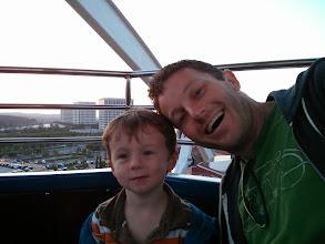 Photo: Finn and Daddy Giant Wheel