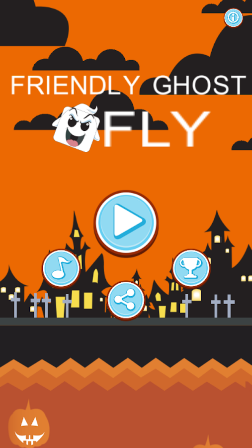 Friendly Ghost Fly- screenshot