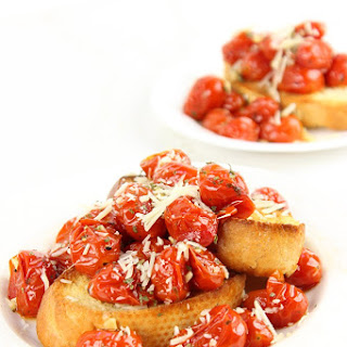 Roasted Garlic Tomatoes - Perfect Holiday Canape