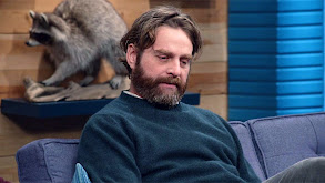 Zach Galifianakis Wears Grey Corduroys and Brown Leather Shoes thumbnail