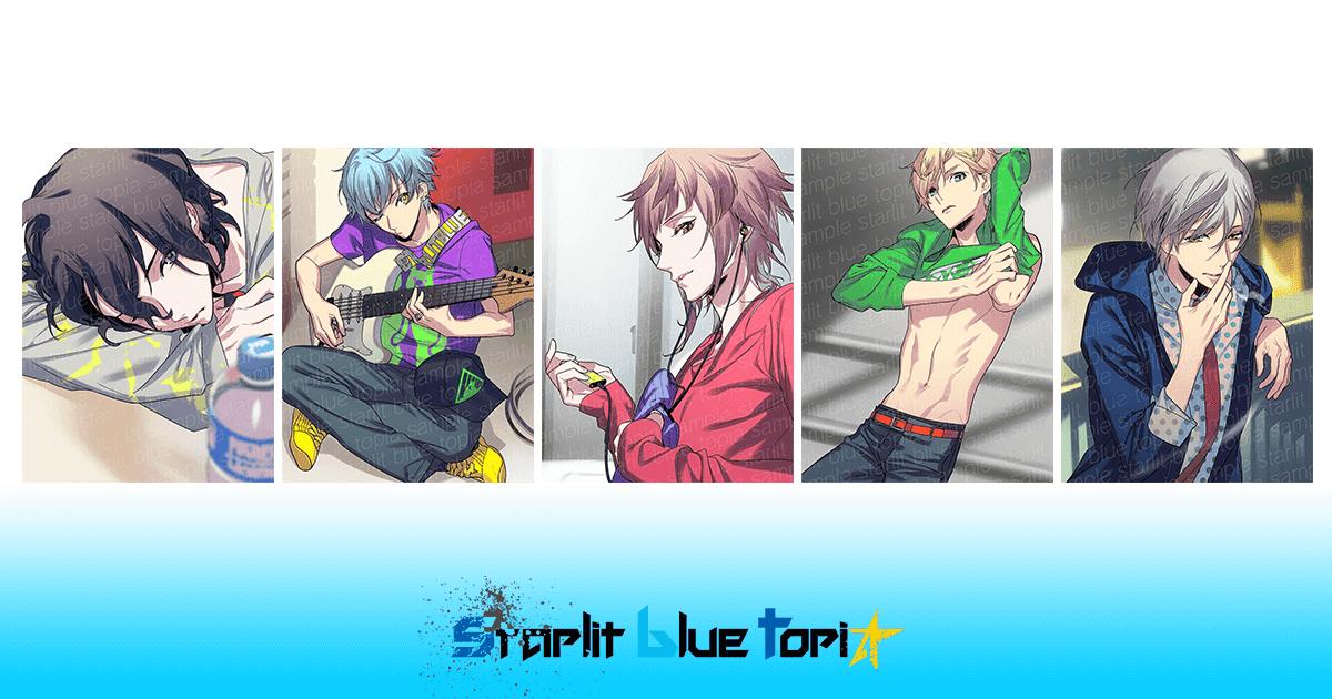 ②starlit blue topia cheki☆colle(チェキコレ)