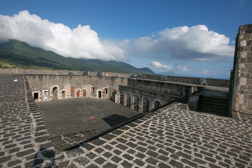 Brimstone-Hill-Fortress-interior.jpg - The interior of Fort George Citadel at Brimstone Hill in St. Kitts, one of the best preserved historical fortifications in the Americas.