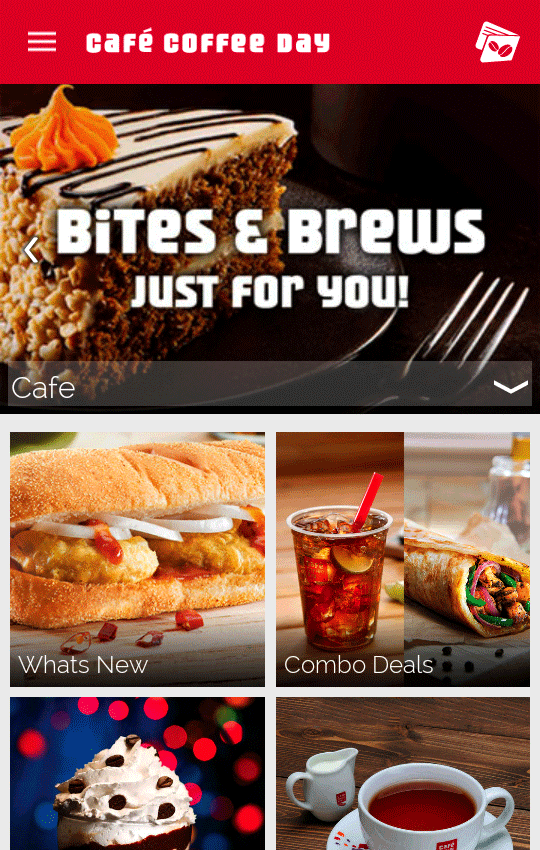 Café Coffee Day- screenshot