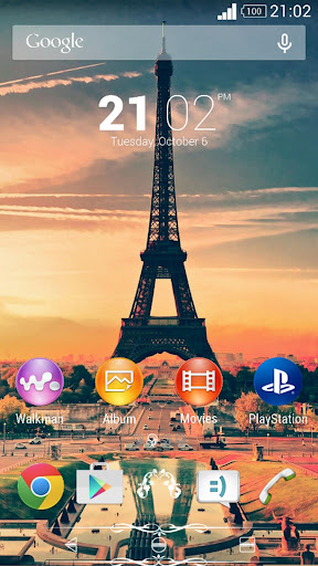 Xperien Theme- Vintage Paris