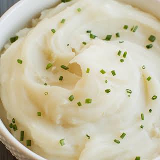 Basic Mashed Potatoes.