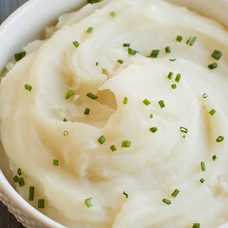 Basic Mashed Potatoes.