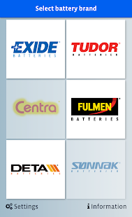 EXIDE Battery Finder- screenshot thumbnail
