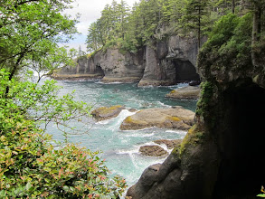 Photo: Along the coast at the end of the hike.