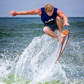 2014 OBX Skim Jam Competition by Lawayne Kimbro - Sports & Fitness Surfing ( water, skimboard, sand, skim board, lawayne, ocean, professional, skim, obx, skim jam, kimbro, trick, skimjam, competition,  )