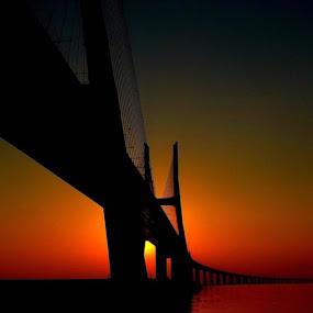 The Bridge by Christian Wilen - Digital Art Things ( cirre1 )