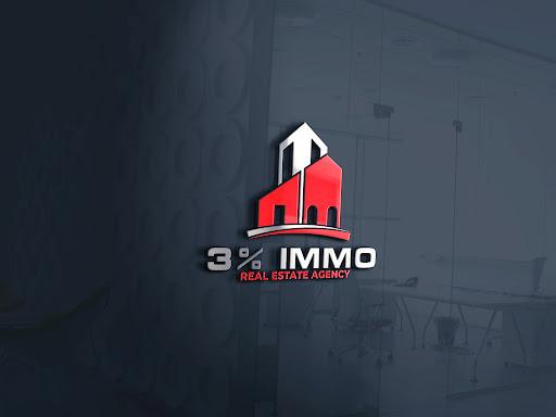 Logo de 3% Immo