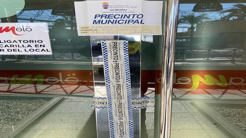 """La Policía Local ha cerrado Caramelo \""""hasta nueva orden\""""."""