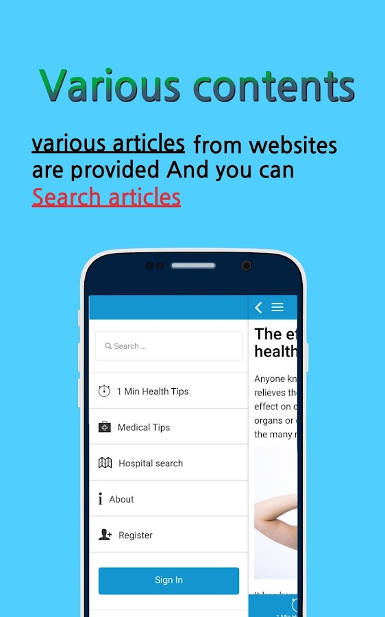 1 Minute Health Tips - Android Apps on Google Play