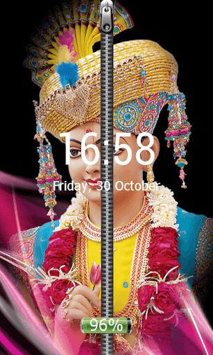 Swaminarayan Zip Screen Lock
