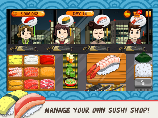 Sushi Friends-Best&Fun Restaurant Game for Girls 1.0.3 screenshots 5