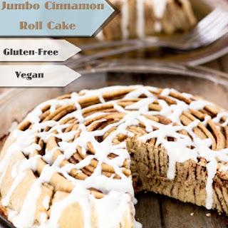 Jumbo Cinnamon Roll Cake