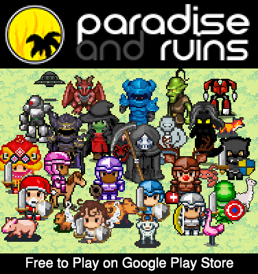 Paradise and Ruins 2D MMORPG MMO RPG Online apkmr screenshots 1