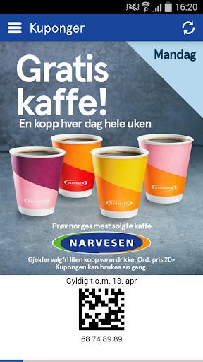 Narvesen Applications (apk) téléchargement gratuit pour Android/PC/Windows screenshot