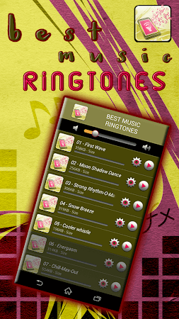 Best Music Ringtones 3.0 screenshot 776339