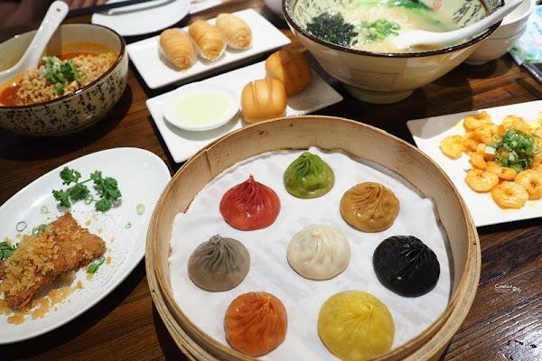 樂天皇朝台灣 特色8色小籠包名不虛傳!好吃的微風信義美食(含菜單)