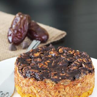 Millionaires' Shortbread Baked Oatmeal