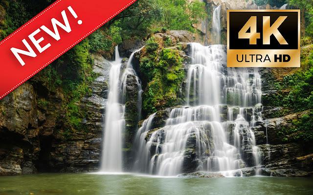 Waterfalls HD Wallpapers - Custom New Tab