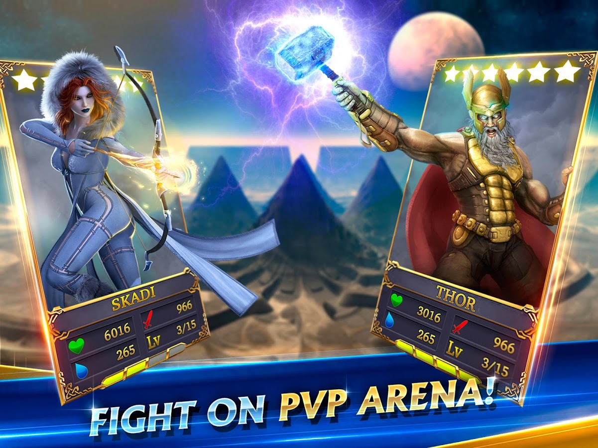 Heroes of Midgard: Thor's Arena - Card Battle Game- screenshot