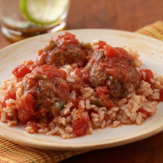 Tex-Mex Meatballs and Rice.