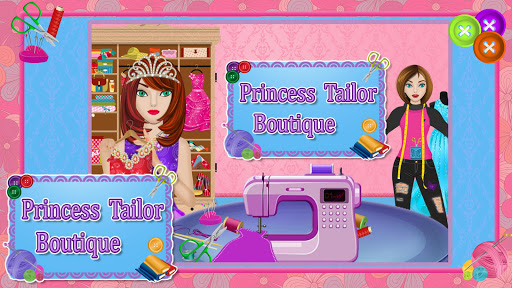 Princess Tailor Boutique Games 1.19 screenshots 1