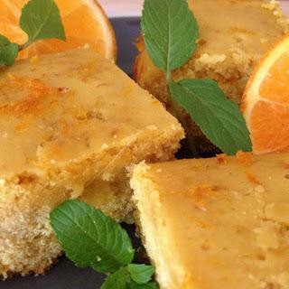 Greek Cinnamon Orange Cornbread [Vegan, Gluten-Free].