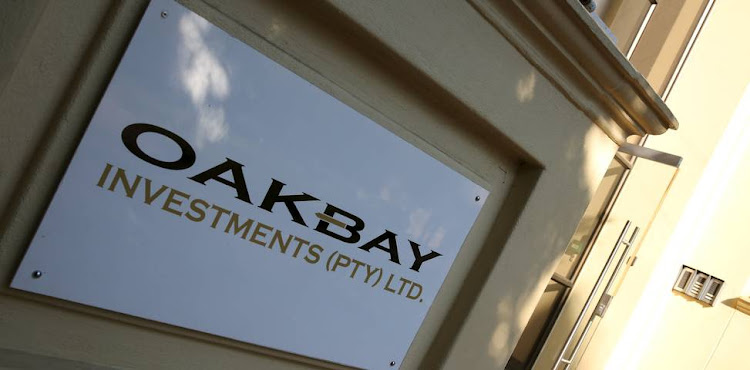 Oakbay offices in Sandton. Picture: SIPHIWE SIBEKO/REUTERS