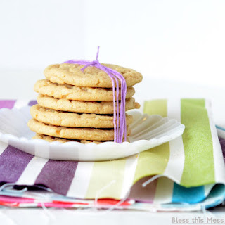 Soft and Chewy Peanut Butter Cookies.